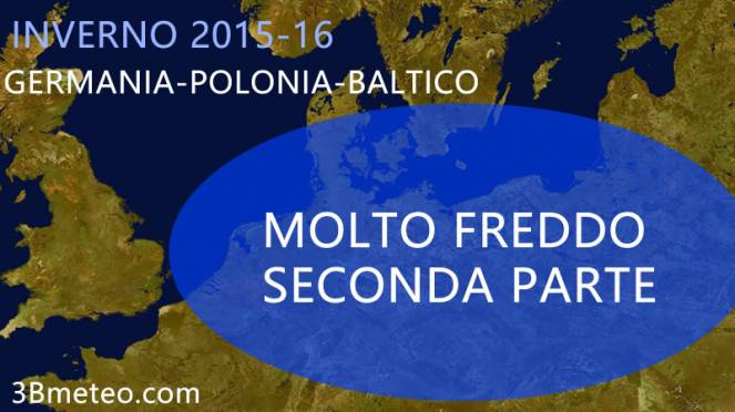 Inverno in Germania-Polonia-Baltico