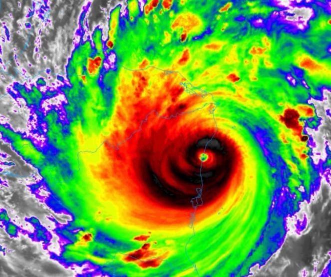 Iota ha fatto landfall in Nicaragua