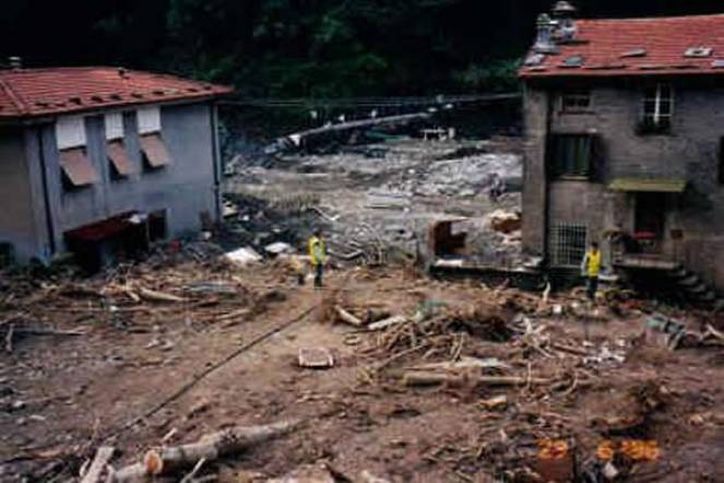 L'alluvione in Versilia del 19 giugno 1996
