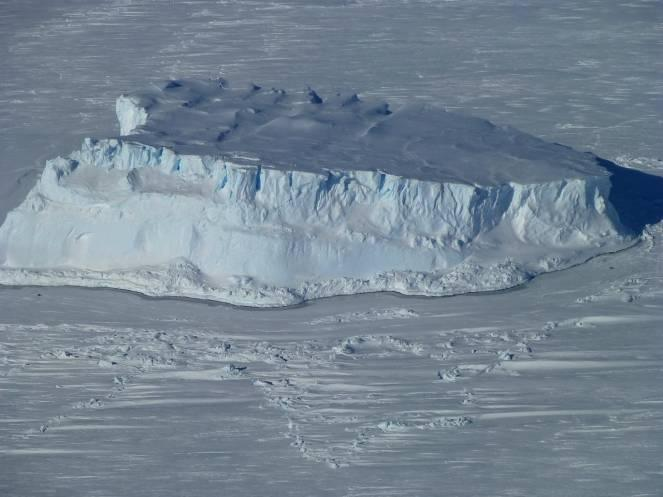 L'Antartide in un'immagine di archivio