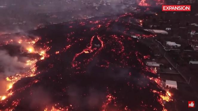 L'eruzione del Cumbre Vieja si intensifica e diventa più esplosiva