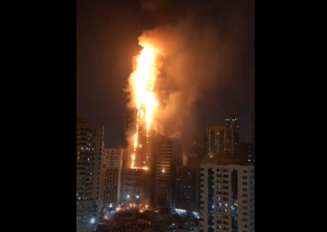 L'incendio del grattacielo Abbco