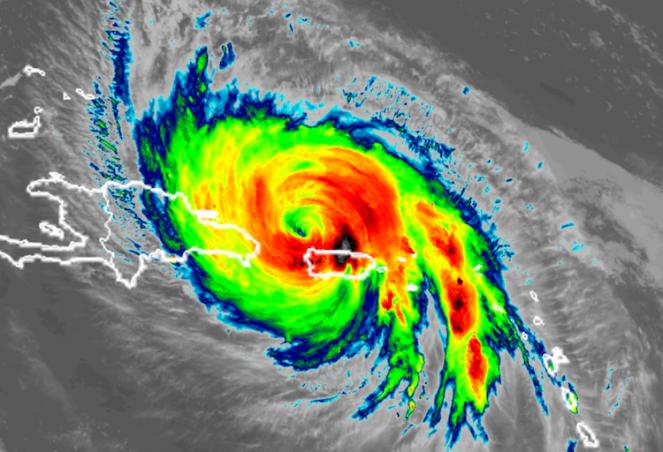 L'uragano Maria