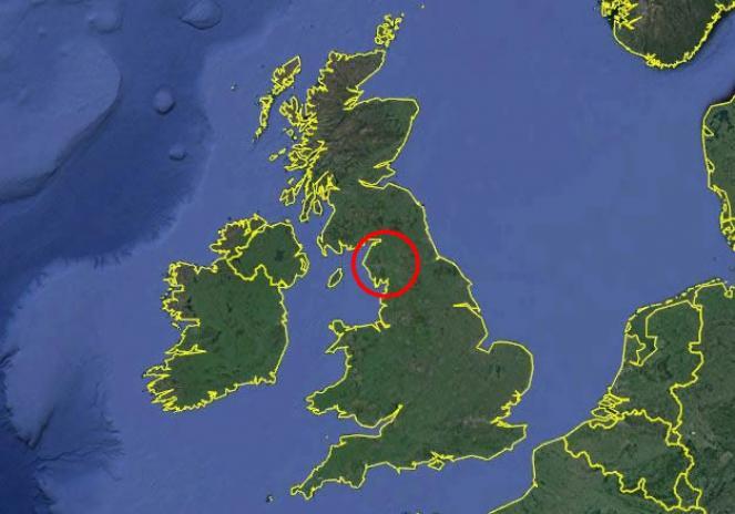 La contea della Cumbria