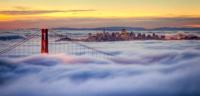 La famosissima nebbia di San Francisco