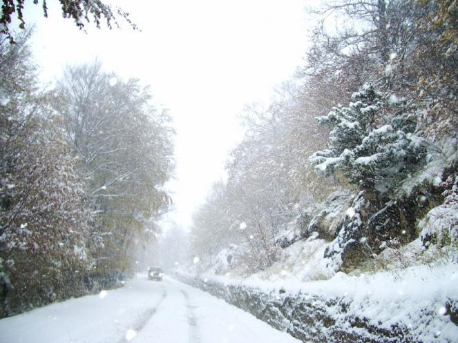 La grande nevicata precoce del 20-21 Ottobre 2007