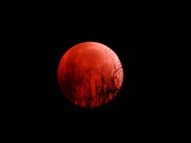 La luna rossa o luna di sangue sarà visibile in Italia tra il 25 e il 26 maggio