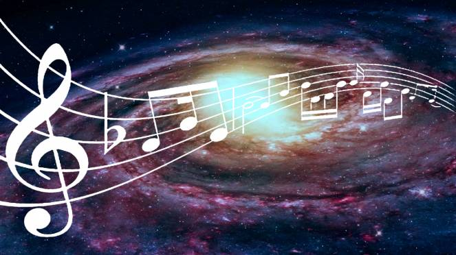 La musica della Via Lattea