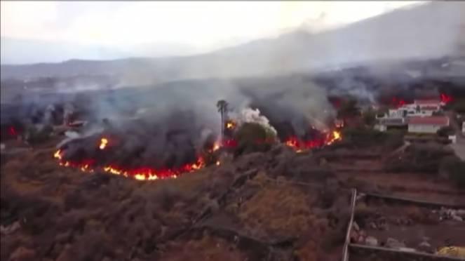 La Palma, eruzione del Cumbre Vieja