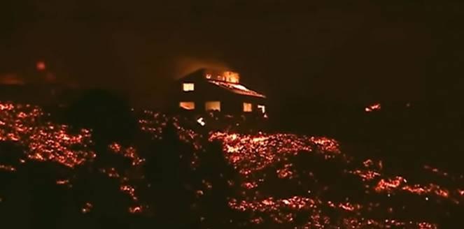 La Palma, grave distruzione a causa del Vulcano Cumbre Vieja