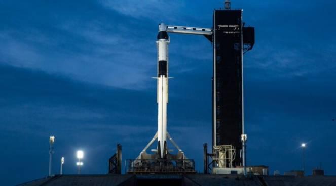 La piattaforma di lancio per la capsula Crew Dragon in Florida