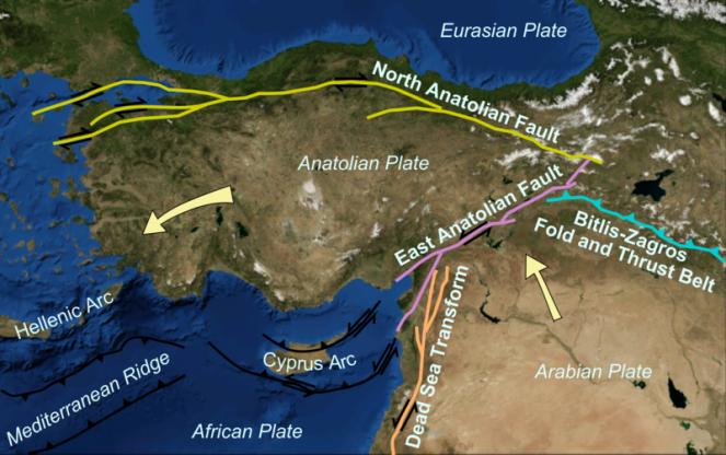 La Placca Anatolica