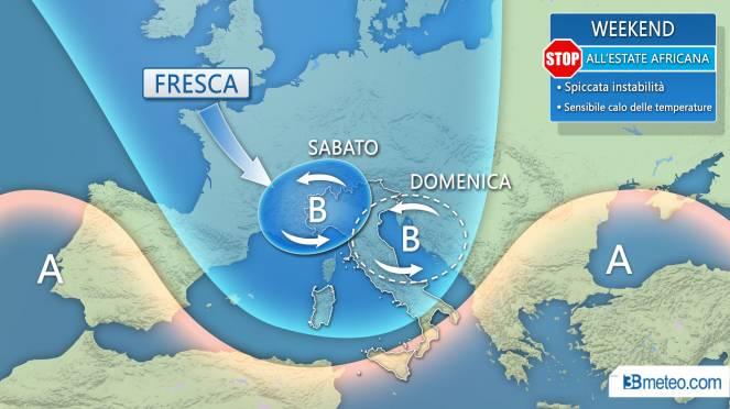 Allerta meteo a Bergamo Forti temporali fino a venerdì