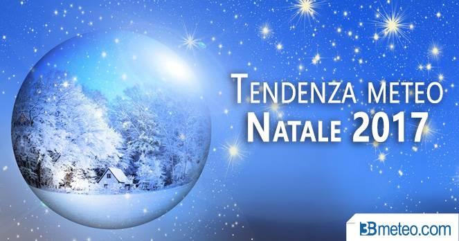 La tendenza meteo per il Natale