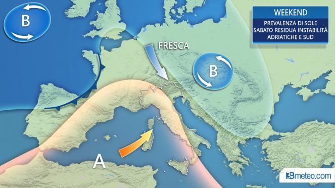 Meteo Aosta: piogge mercoledì, qualche possibile rovescio giovedì, piogge venerdì