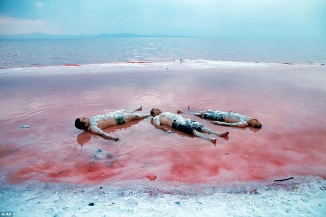 Iran il lago urmia si colora di rosa ma colpa della - Si possono portare passeggeri con il foglio rosa ...