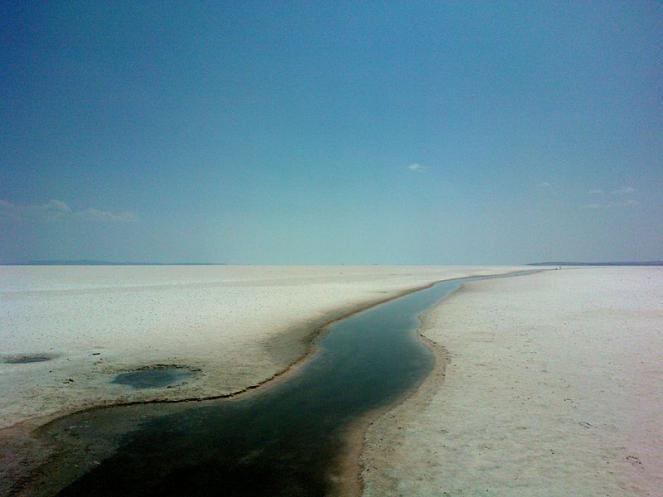 Le coste più pianeggianti erano immensi depositi di sale