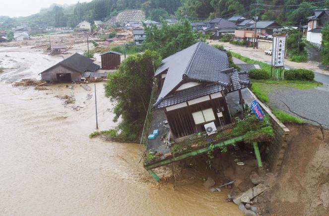 Le immagini della devastazione in Giappone