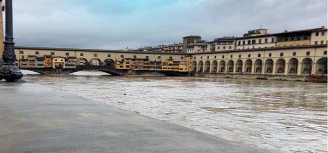 MALTEMPO: esondazioni in Emilia e Toscana, l Arno fa PAURA a Firenze e Pisa
