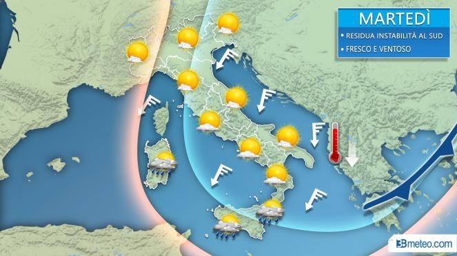 Meteo Milano, arriva l'autunno: crollano le temperature