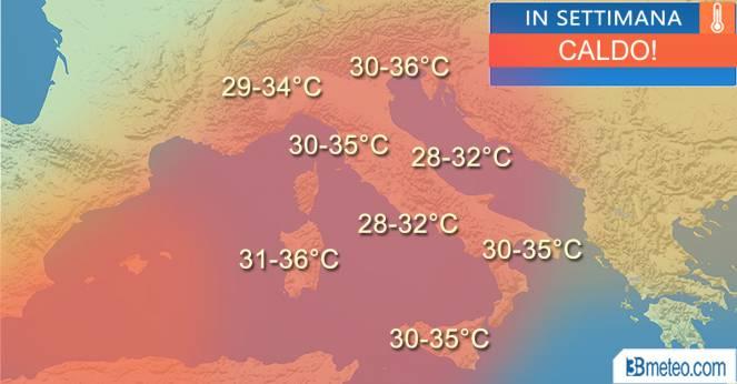 Firenze, si allunga l'emergenza caldo. E allerta meteo per temporali forti