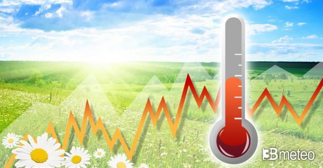 Meteo. Le temperature previste nei prossimi giorni