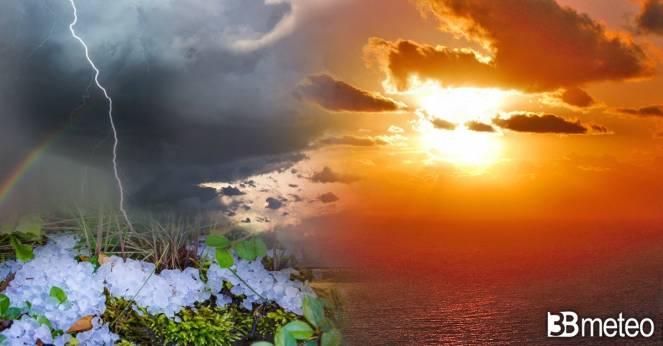 Meteo. Sole e caldo nei prossimi giorni, ma anche alcuni temporali