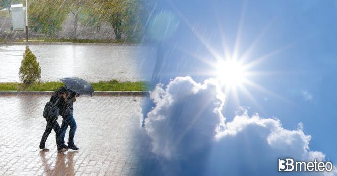 Meteo 2 giugno, qualche acquazzone in un contesto mediamente soleggiato
