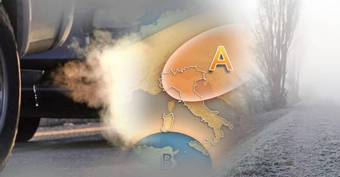 Meteo: anomalo anticiclone, nebbie fitte e smog alle stelle al Nord