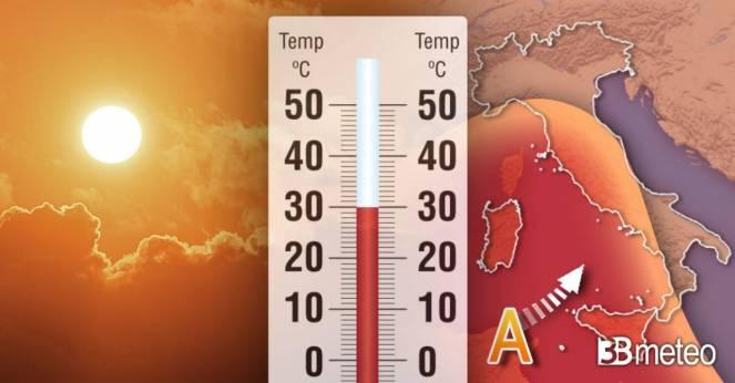 Meteo, Centro Italia: caldo africano nei prossimi giorni