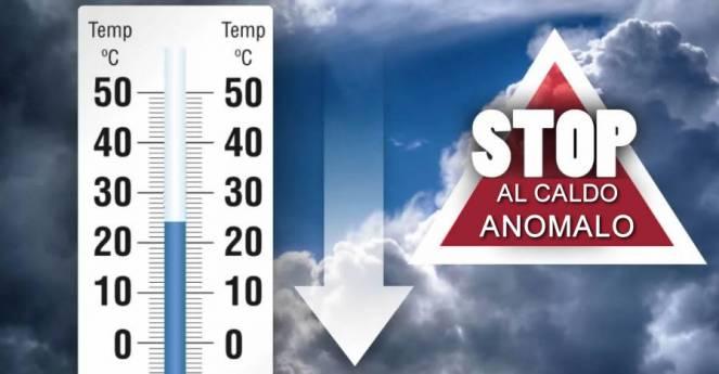Meteo, da mercoledì stop al caldo anomalo