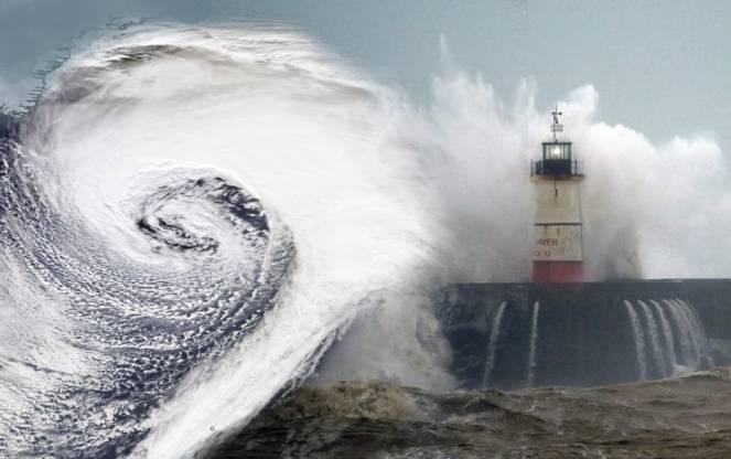 Meteo : Dennis la nuova feroce super tempesta raggiunge il nord Europa