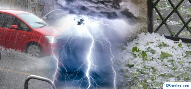 Meteo diretta - Severo maltempo colpisce il Nord Italia