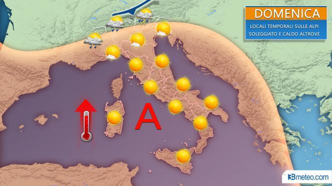Meteo, una settimana di grande caldo