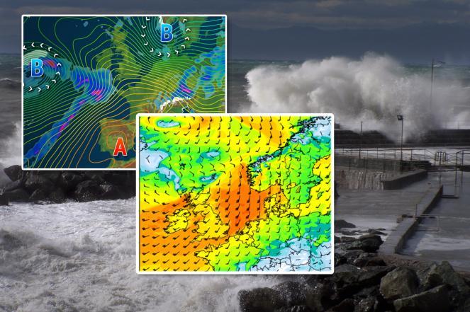 Meteo Europa: in arrivo potente ciclone