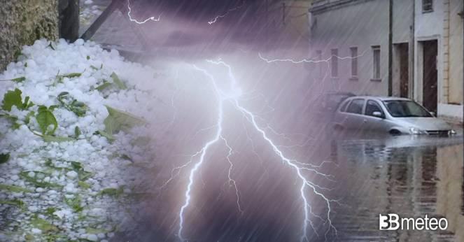 Meteo forte maltempo atteso nei prossimi giorni