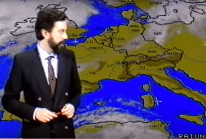 Meteo: il robusto anticiclone del Gennaio 1989