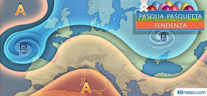 Feste pasquali: anticiclone, picchi over 25°C