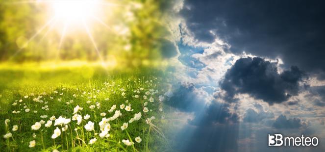 PROSSIMA SETTIMANA variabile tra sole, qualche acquazzone e vento, aggiornamenti