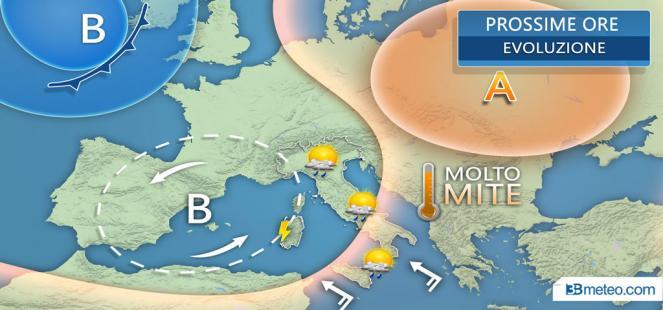 Settimana tra sole e nuovi acquazzoni o temporali, clima CALDO per il periodo