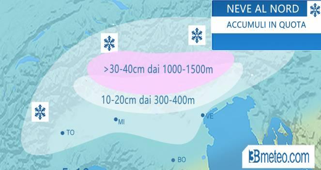Meteo in diretta: gelicidio in Piemonte, forti piogge in Liguria