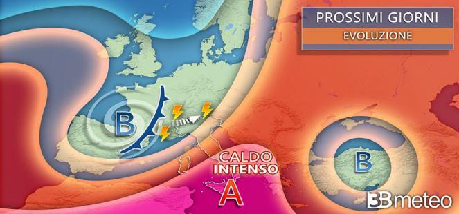 ⚠ Il CALDO AFRICANO si INCATTIVISCE sull Italia : fino a 40°C per giorni al Sud