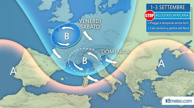METEO: gran CALDO fino ad inizio agosto. Occhi puntati ai primi temporali