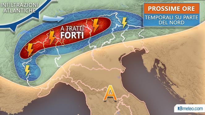 Previsioni meteo 20-24 agosto. Fase di instabilità da metà settimana