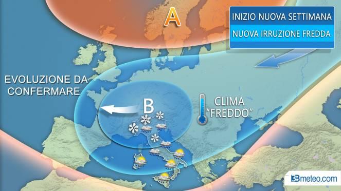 Meteo, arriva il freddo dalla Russia: temperature in picchiata. Le previsioni