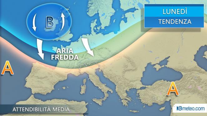 Meteo Italia: la tendenza per il 1 aprile