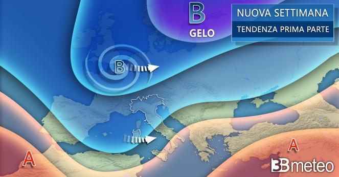 Meteo Italia: la tendenza per la prossima settimana