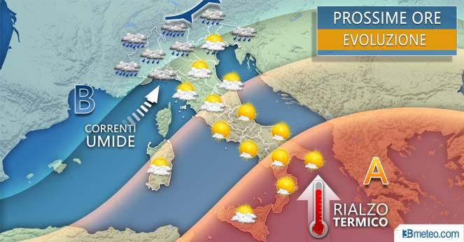 Meteo, torna la pioggia in Abruzzo e nel Pescarese: le previsioni