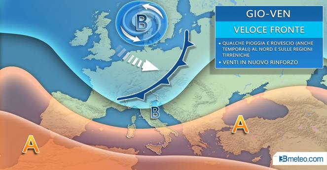 Meteo weekend: torna il caldo anomalo su tutta l'Italia