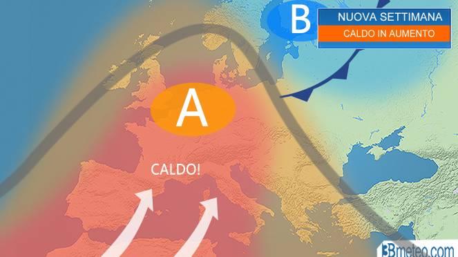 Ondate di calore, temperature estreme nei centri urbani e nelle pianure interne